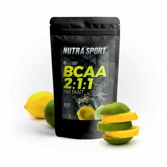 NS BCAA 2:1:1 citrom és lime – 420 g