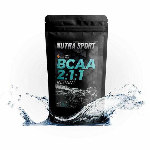 NS BCAA 2:1:1 natúr – 420 g