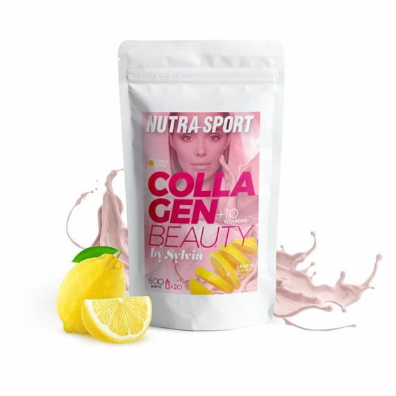 NutraSport Collagen Beauty by Sylvia lemon