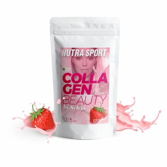 NutraSport Collagen Beauty by Sylvia strawberry