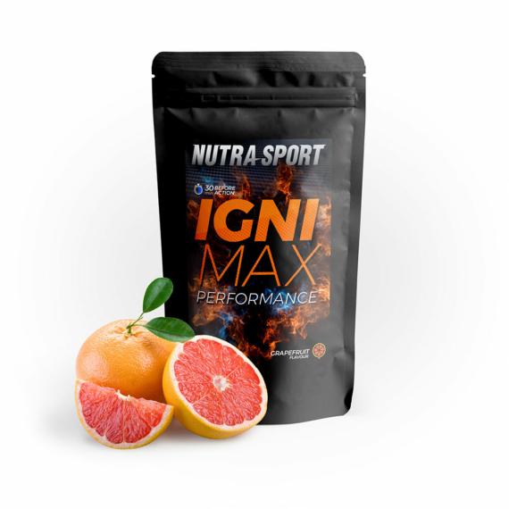 NutraSport IgniMax Performance grapefruit