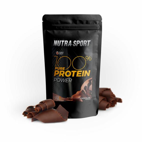 NutraSport 100% Pure Protein Power chocolate