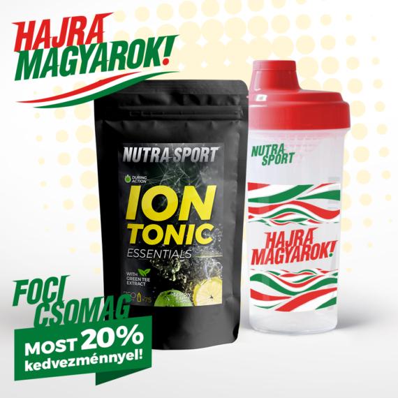 NutraSport IonTonic szurkolói shaker